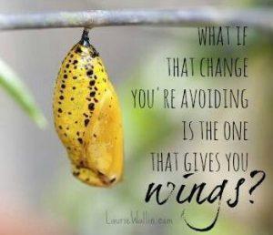Caterpillar, Butterfly, Change